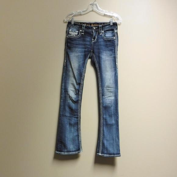 "Rock Revival Denim - Women's Rock Revival ""Nancy"" Boot Cut Jeans Sz 24"
